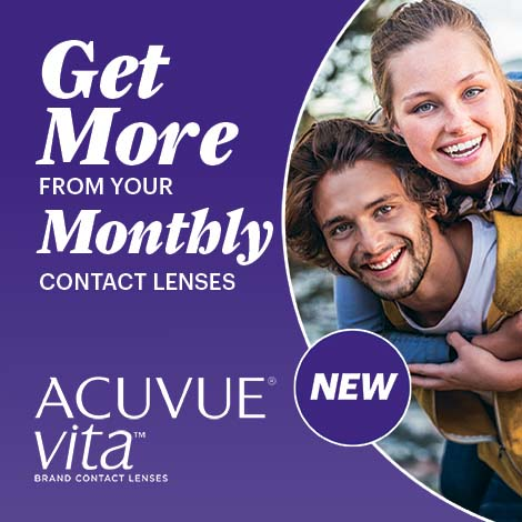 New Acuvue Vita: 1 Month Contact Lens