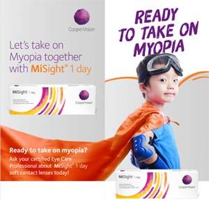 Misight® 1 Day: Myopia Control Contact Lenses
