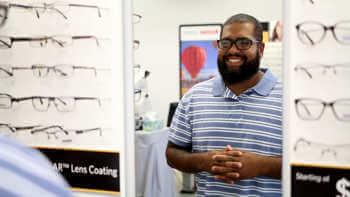 happy eye care customer