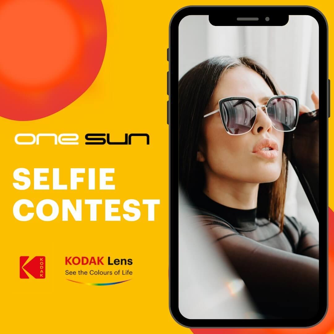 One Sun Selfie Contest!