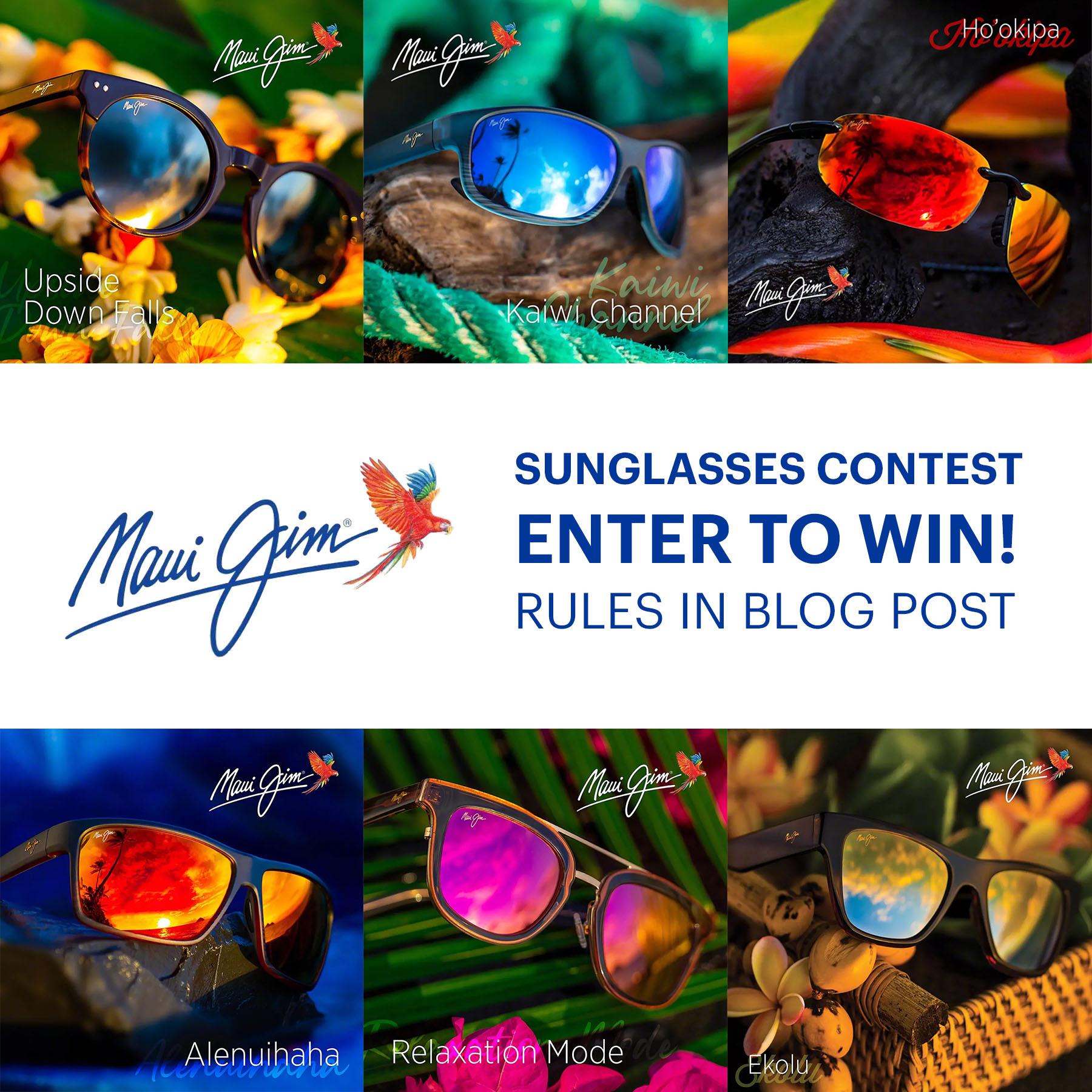 Maui Jim Sunglasses Contest!