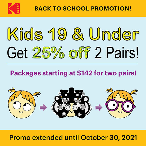 Back to School Promotion!