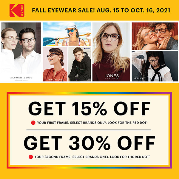 Fall Eyewear Sale!